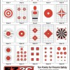 EZ2C Targets 20 Styles (Small)